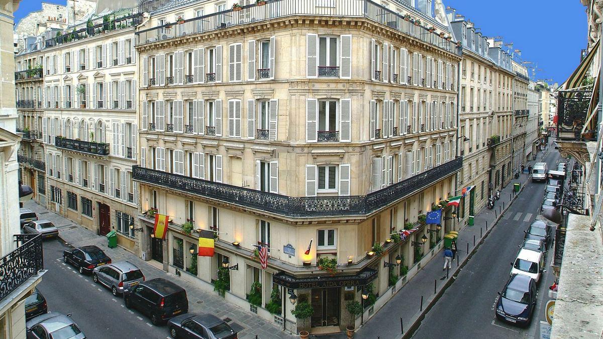 Hotel Aida Opera מלון כשר בפריז