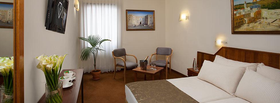 מלון שערי ירושלים מלון כשר למהדרין בירושלים חדר במלון