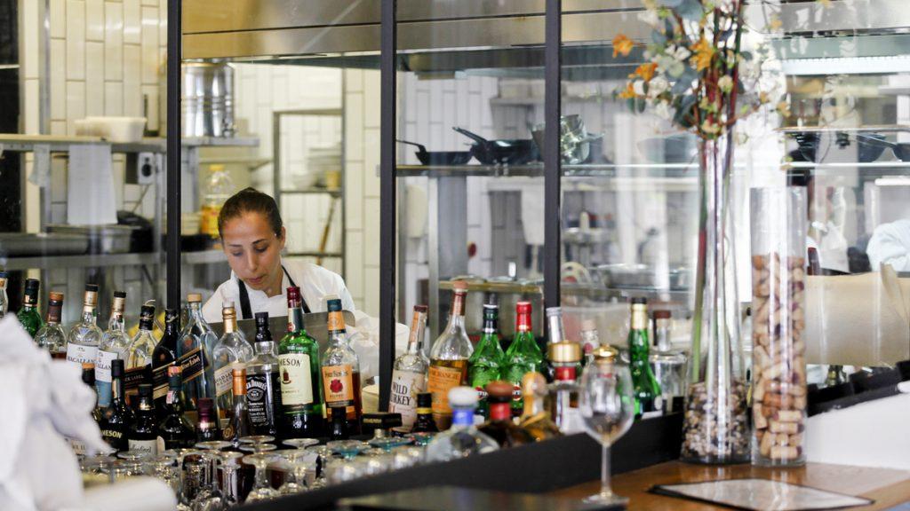 בר המסעדה אנג'ליקה מסעדת שף כשרה בירושלים