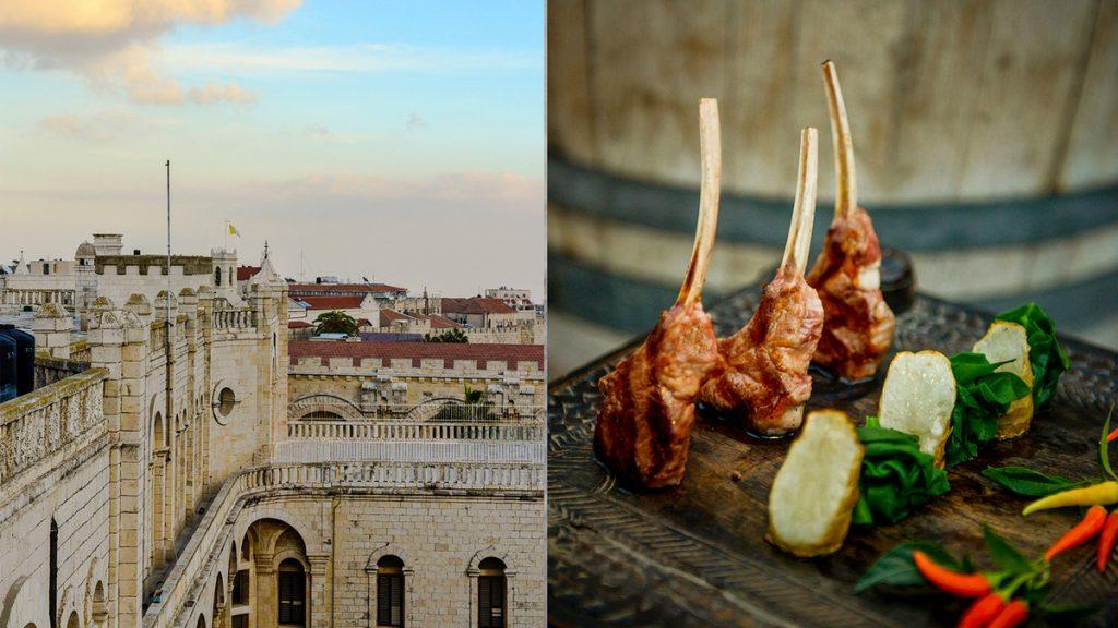מסעדות כשרות לפסח בירושלים - פסח במסעדת רופטופ הכשרה של מלון ממילא