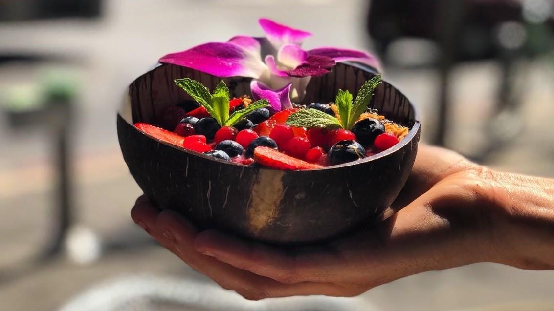 Bowl & Juice בול אנד ג'וס הדוכן הטבעוני הכשר של ק-פה האנוי