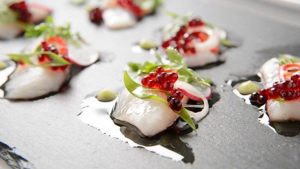 אנג'ליקה מסעדת שף כשרה בירושלים מנת קיץ רומנטית במיוחד