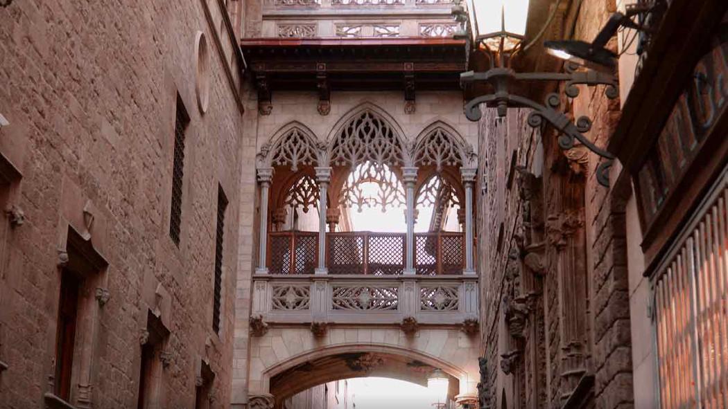 בית הכנסת הגדול של ברצלונה מבחוץ