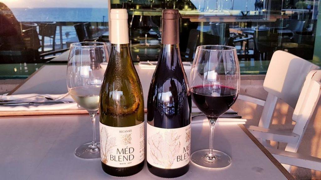 Recanati Med Blend Med Blend של רקנאטי יין כשר חדש