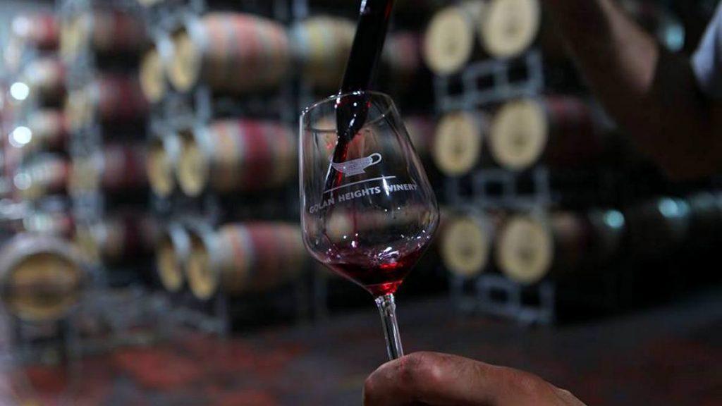 יינות יוקרתיים כשרים של יקב רמת הגולן צילום דיויד סילברמן