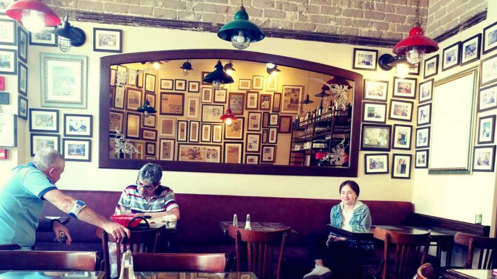סנדר מסעדה כשרה בתל אביב עכשיו גם חמין טבעוני