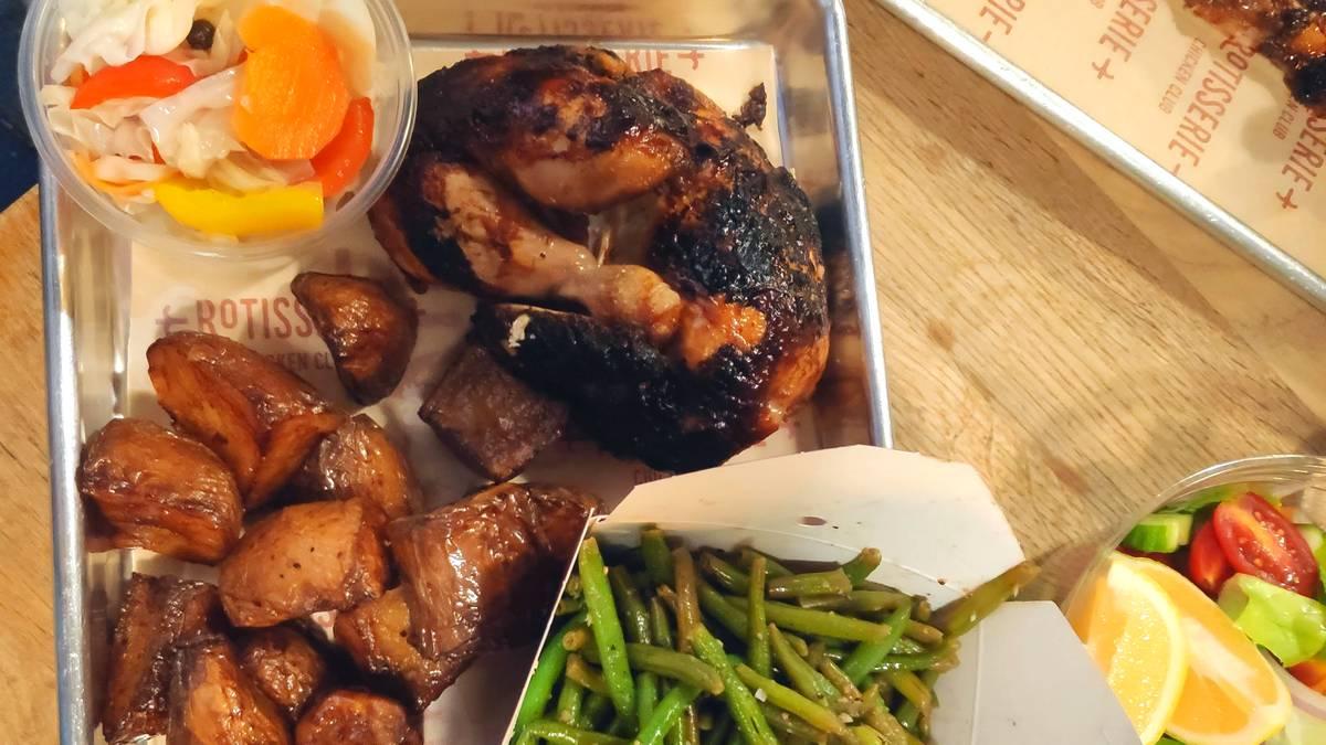רוטיסרי עוף בגריל כשר