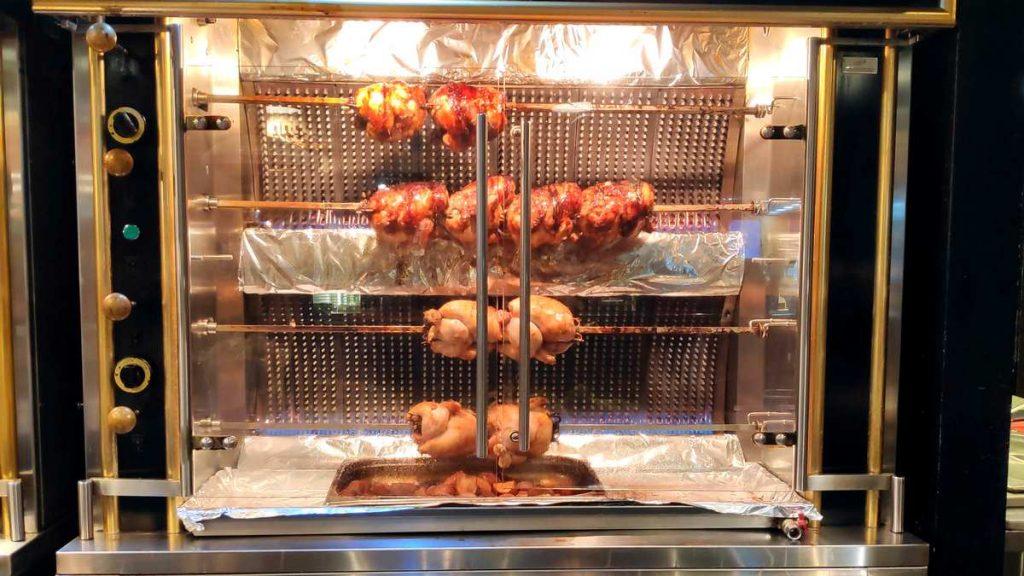 רוטיסרי עוף בגריל כשר תנור הרוטיסול