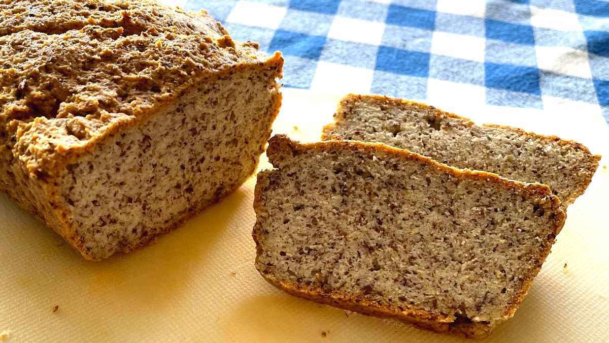 לחם מלא דל פחמימות ובלי גלוטן