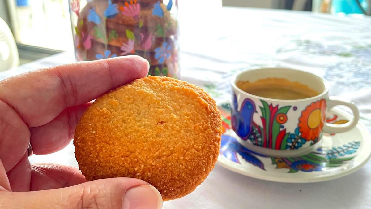 עוגיות פשוטות דלות פחמימות ובלי גלוטן